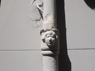 Bafomet en la Calle Susana Llaneras nº 27, Alicante.