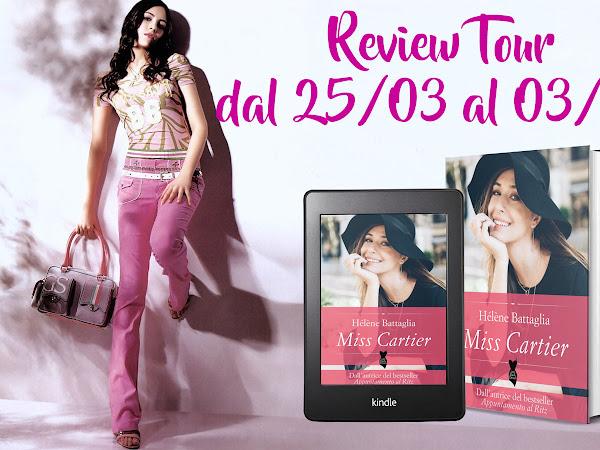 *Review Tour* Miss Cartier di Hélène Battaglia [The Pink Factory publishing]