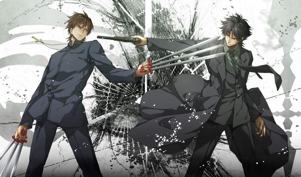 anime fight wallpaper