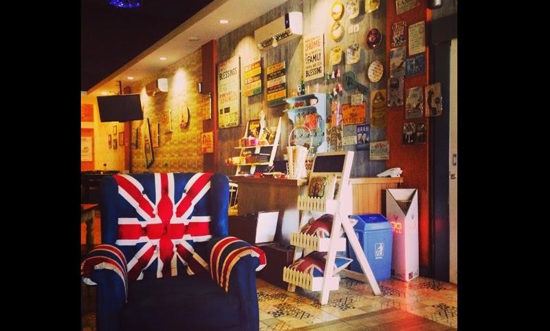 Uniknya Café London Makassar yang Instagramable