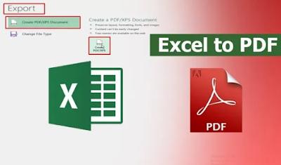 Cara Convert Excel ke PDF dengan Mudah