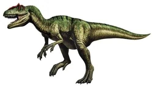 Allosaurus - एलोसोरस