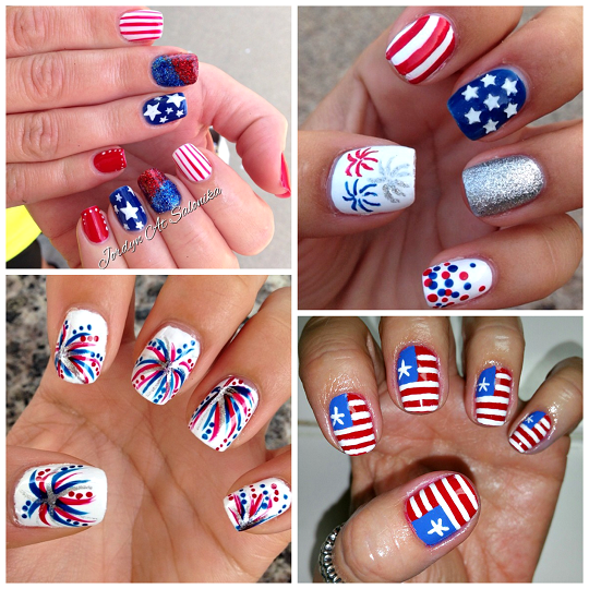 Happy 4th of July Nailarts 2017