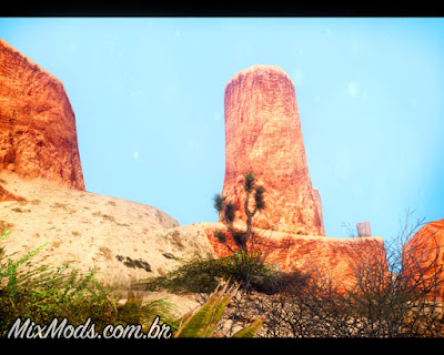 gta sa vegetação em hd deserto