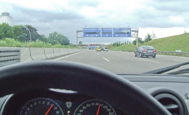 De carro de Munique até Hamburgo