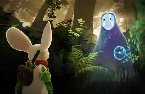 The VR game Moss will get its sequel - Moss: Book II