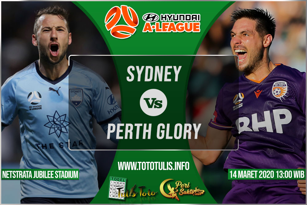 Prediksi Sydney vs Perth Glory 14 Maret 2020