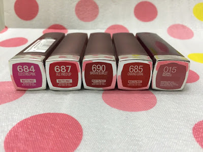 Son môi Maybelline Color Sensational The Loaded Bolds Lipstick 800 Dynamite Red - SM26