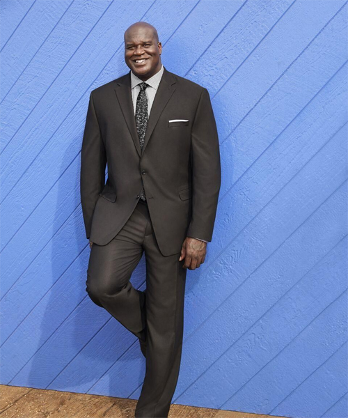 Shaq is one of his suits