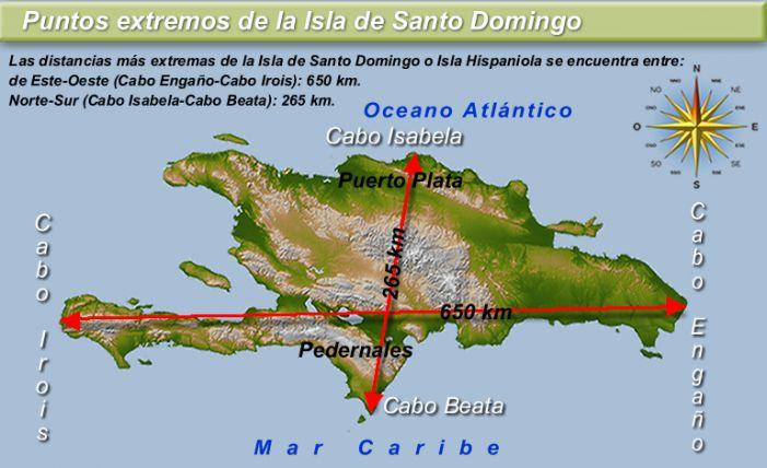 Mapa político de la República Dominicana