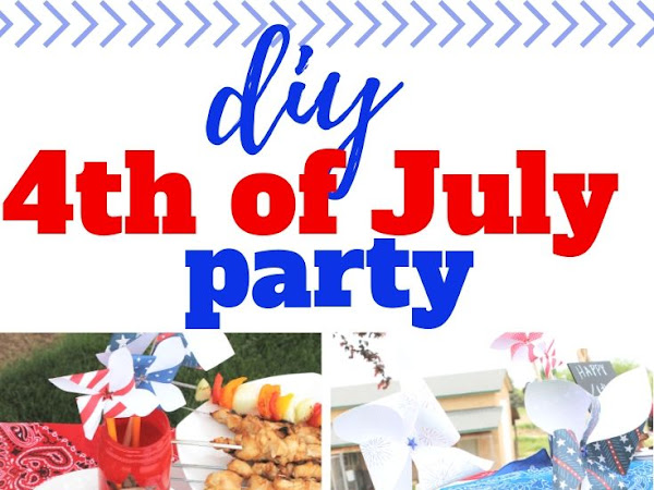 Simple and Creative Homemade 4th of July Decorations