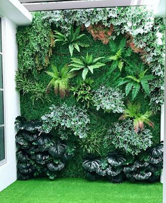 Jasa Taman Vertikal Garden di Sentul City