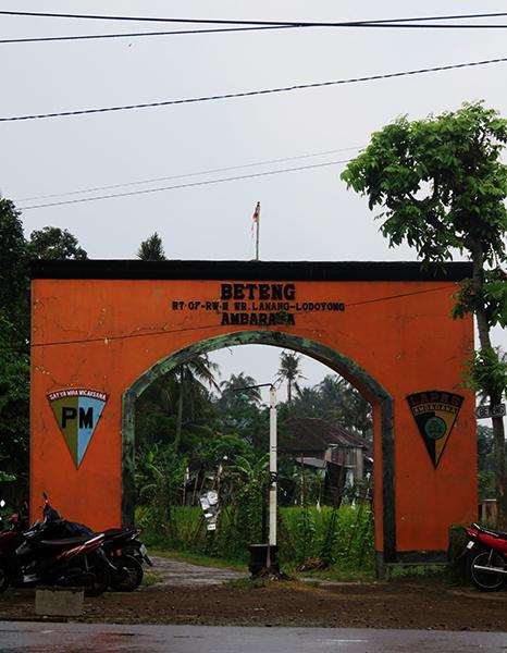 Jalan Masuk Benteng Pendem Ambarawa di Timur RSUD Ambarawa