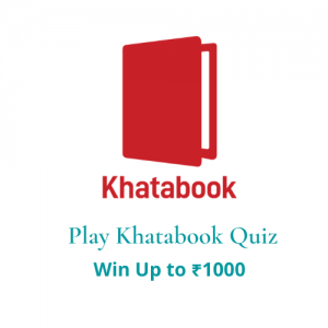 Khatabook quiz answers today 8 march 2021