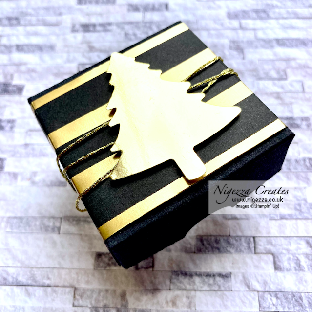 Christmas Table Top Gift Box For Large Tea Light