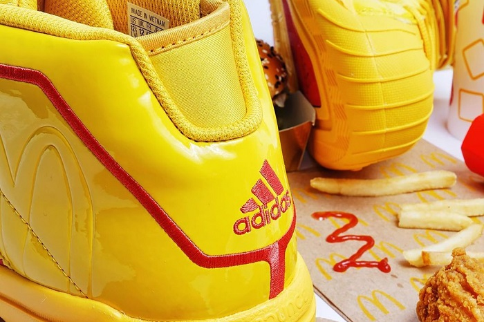 McDonald's French Fries Inspired Basketball Shoes