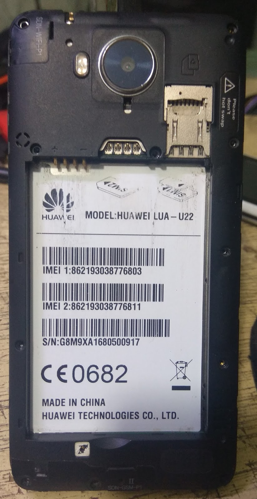 Huawei Lua-U22 Boot Error Ok File MT6582 5 1 Dead Boot