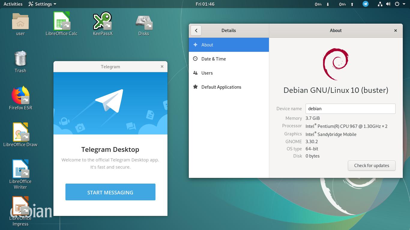 Ubuntu Buzz !: What To Do After Installing Debian 10 GNOME