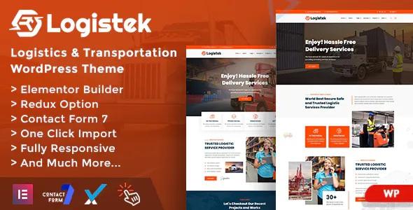 Best Logistics & Transportation WordPress Theme