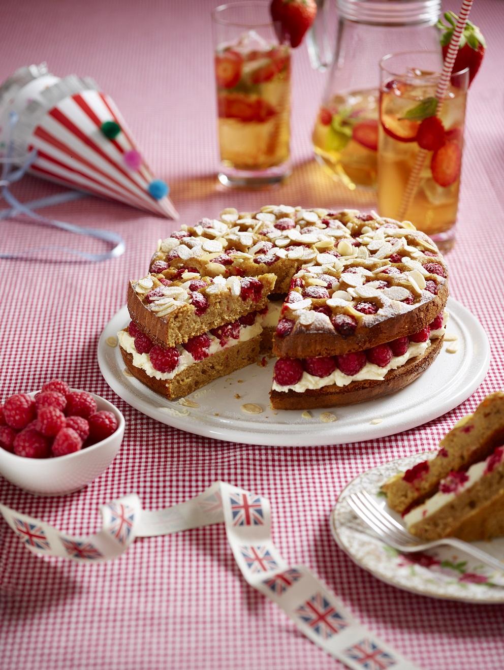 Potter's British Raspberry, Apricot And Almond Cake