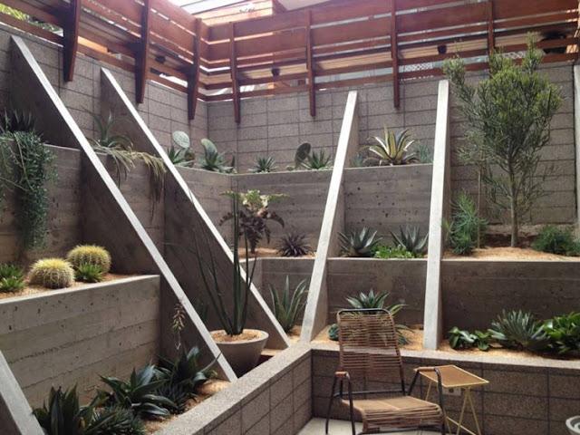 Surround and surround your villa courtyard with plants and turn your villa courtyard into an oasis