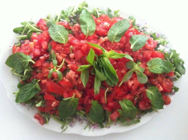 Salatalar, 15 dakikada hazırlanan pratik yemekler,sahra