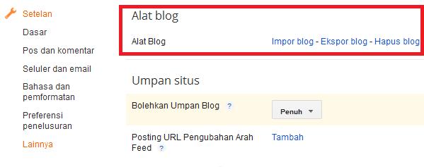 Sebenarnya sangat penting untuk melaksanakan  Bagaimana Cara Backup Data Blog?