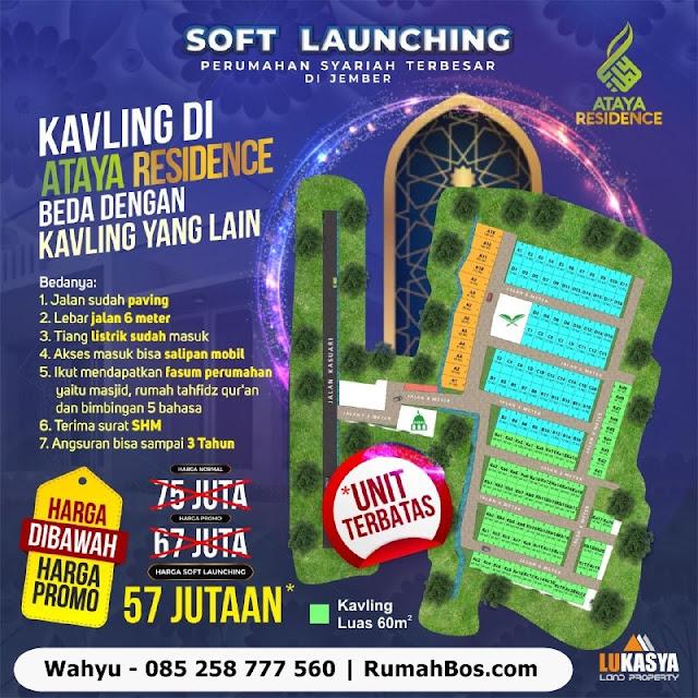 Promo ataya residence jember