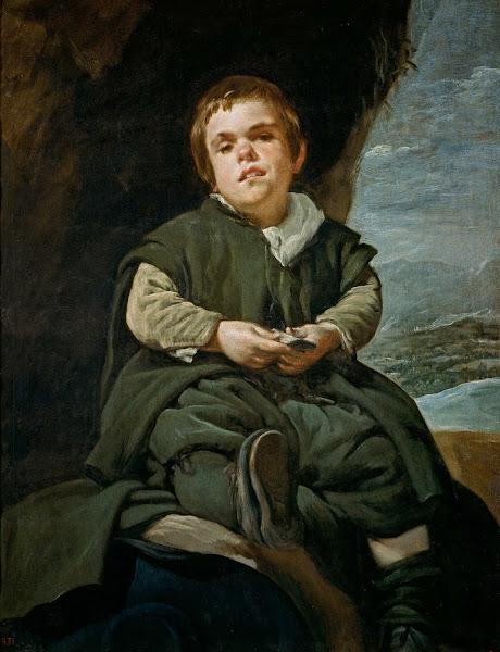 Диего Веласкес - Портрет шута Франсиско Лезано (ок.1640)