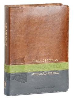 Bíblia de Estudo Cronológica. Aplicação Pessoal (Português)