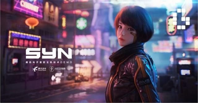 Tencent Umumkan Game FPS Bertema Cyberpunk