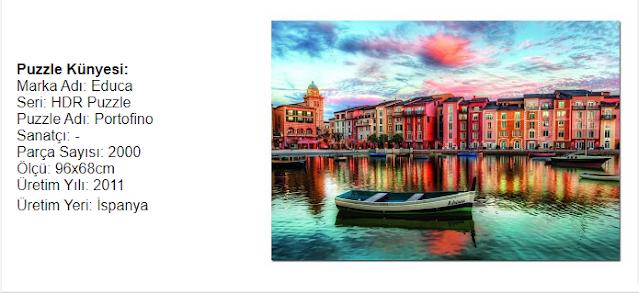 Educa Portofino hdr puzzle