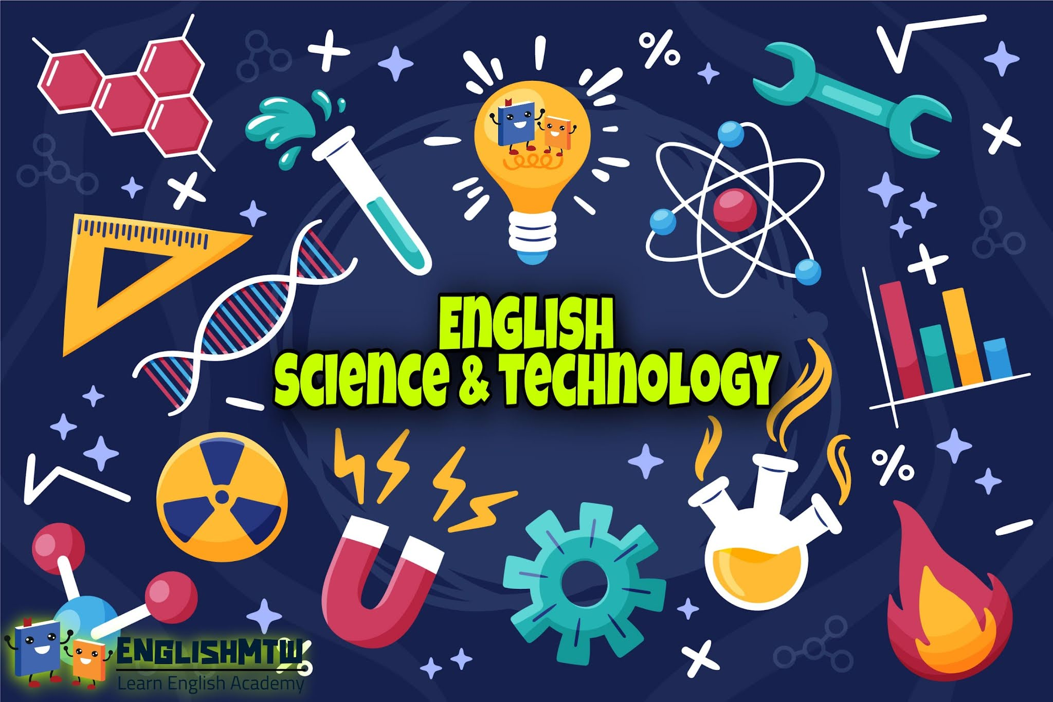 مواقع لتعليم اللغة الإنجليزية للعلوم والتكنولوجيا