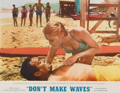 Don't Make Waves 1967movieloversreviews.filminspector.com Sharon Tate Tony Curtis
