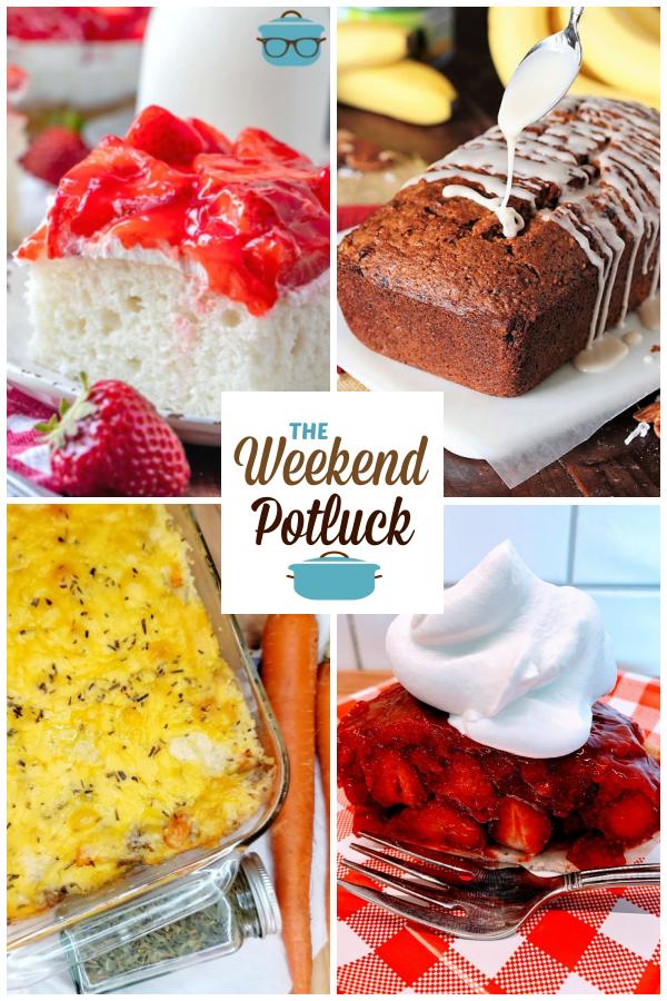 A virtual recipe swap with Strawberry Shortcake Cake, Hummingbird Banana Bread, Grammy's Sausage Casserole, Fresh Strawberry Pie and dozens more!