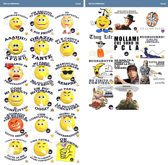 Emoticons sticker Telegram Hamer Nuova Medicina