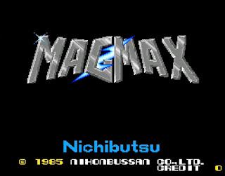 MAGMAX タイトル画面