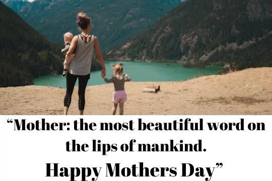 A mother's love is more beautiful than any fresh flower.Happy Mothers Day