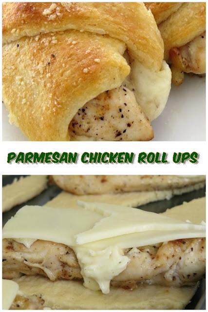 #Parmesan #Chicken #Roll #Ups #crockpotrecipes #chickenbreastrecipes #easychickenrecipes #souprecipes