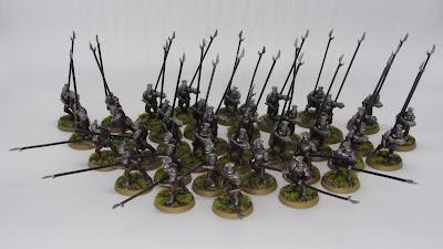 Uruk-hai Warriors with Pikes