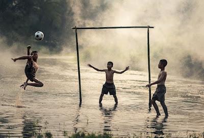 pjok tujuan bermamin sepak bola