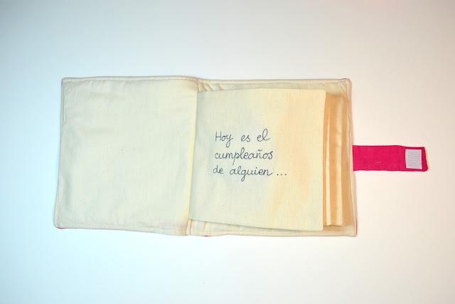 libro de tela personalizado