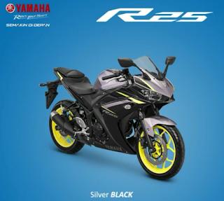 Inilah Spesifikasi Motor Terbaru Yamaha R25