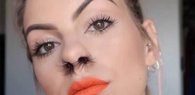 Nose Hair Extensions Now Trending DIY Tutorial