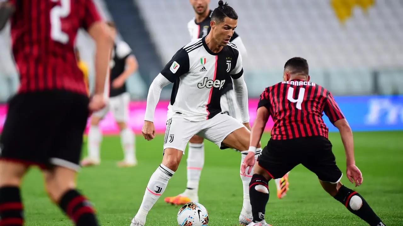 موعد مباراة يوفنتوس وميلان في الجوله الخامسة والثلاثون من الدوري الايطالي