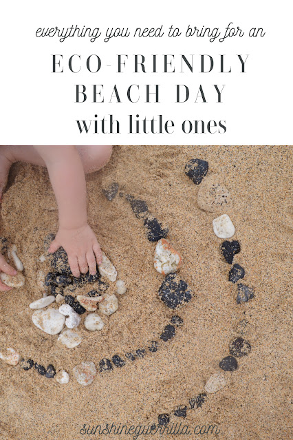Eco-Friendly Beach Day with Little Kids