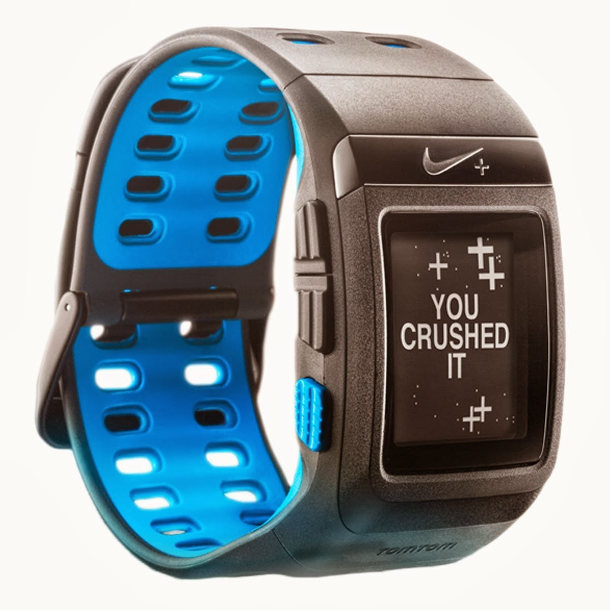 Nike+ SportWatch GPS Powered by TomTom, anthracite blue color
