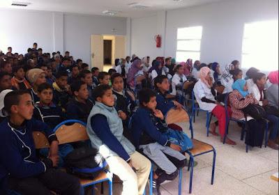 إقليم أسفي : إعدادية العمامرة ترسخ مبادئ التربية الطرقية