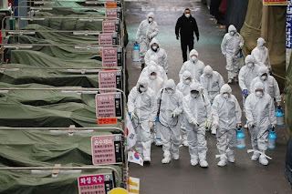 Otoritas Italia melaporkan 627 kematian baru akibat virus Corona