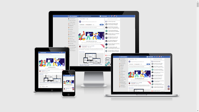 BSW Facebook Parody V20 - The Best Facebook Template for Blogspot